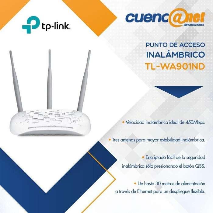 Tplink Tlwa901nd 450mbps Advance W. N Access P.