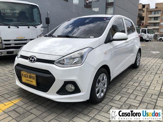 Hyundai I10 Mt 1000cc 2015