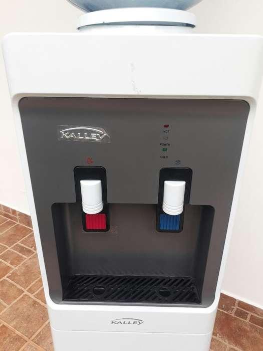 Dispensador de Agua con Nevera