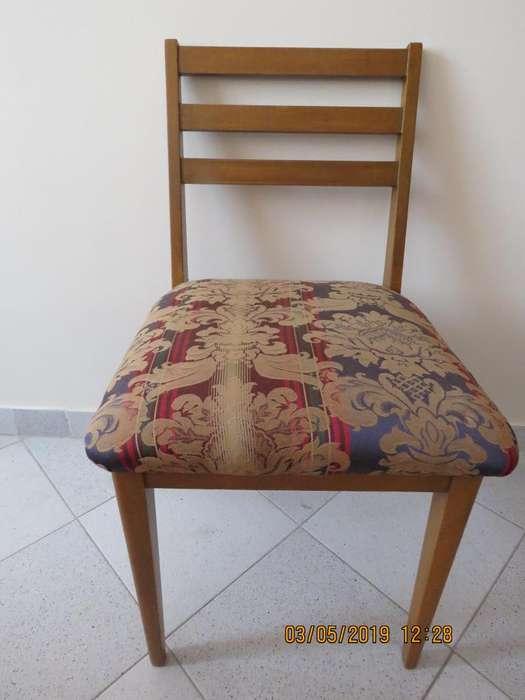 VENDO <strong>silla</strong> en madera para escritorio