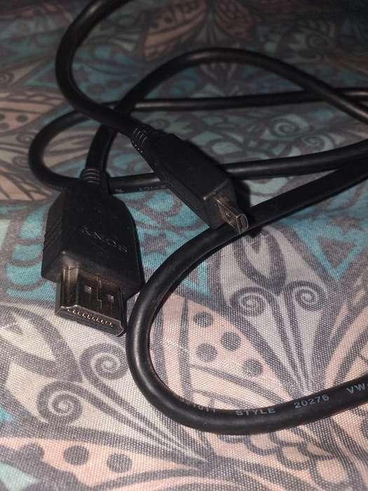 Cable Hdmi Sony para Camara Nuevo