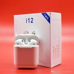 Audifonos Auriculares Inalambricos Bluetooth 5.0 i12 Aripods TACTILES PEQUEÑOS Manos libres