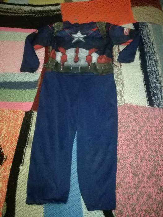 Disfraz de Capitan America Marvell