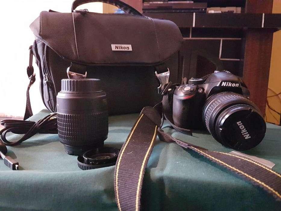 Vendo Camara Nikon 3200 con <strong>accesorios</strong>