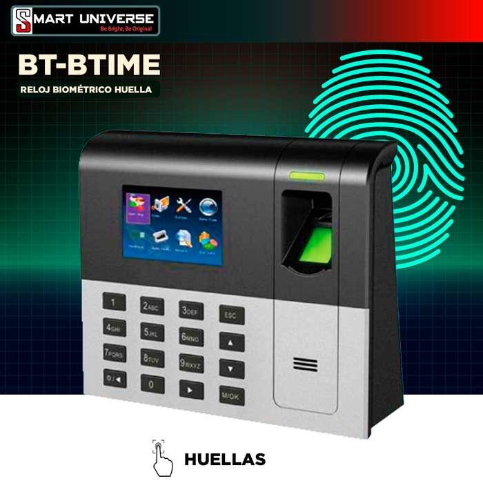 Reloj Biométrico Control Asistencia Biotime Bt-btime Usb Red
