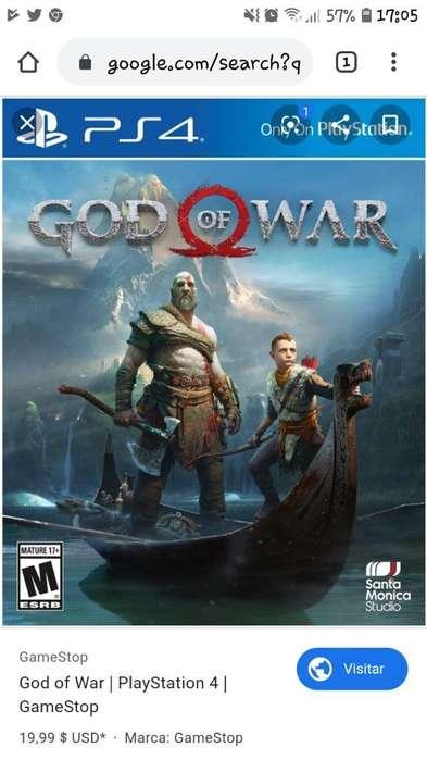 Vendo God Of War 4 Digital