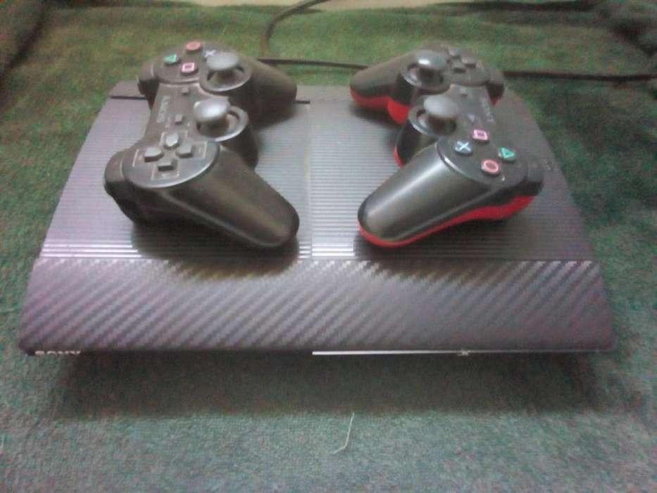 Play 3 Super Slim 250 Gb, 3 Peliculas