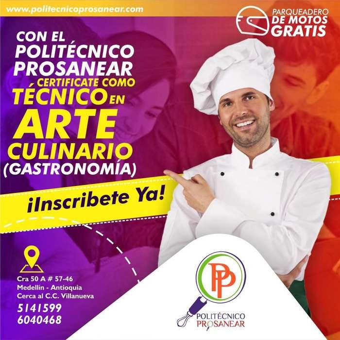 Técnico en Arte Culinario (Gastronomía)