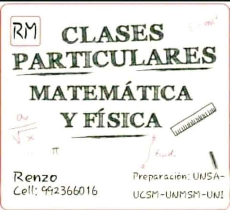 Profesor de Física,química Y Matemáticas