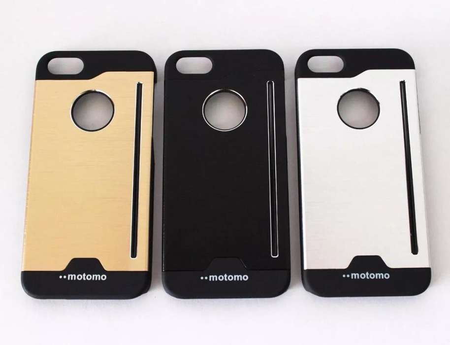 4e5d45114c2 Estuche Aluminio Motomo Iphone 5 5s <strong>lujo</strong> Protector Forro