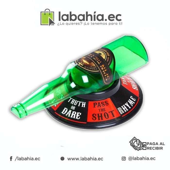 Spin the Bottle juego de la botella verdad o castigo para beber
