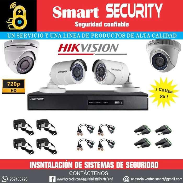 venta e instalación de cámaras de seguridad y monitor