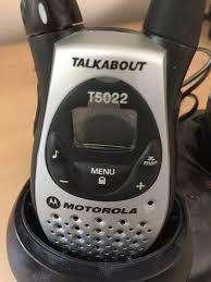 Vendo radio walkies