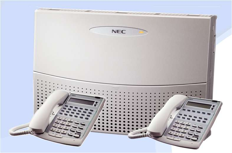 Central Telefónica. Marca NEC, para 6 Líneas/16 Ext. con Teléfono Operador Incluido. Switch Protector, Baterias.