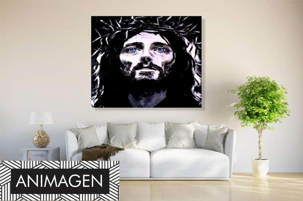 Cuadro decorativo de jesus 4300