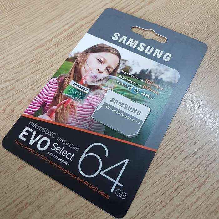 Micro sd samsung 64gb
