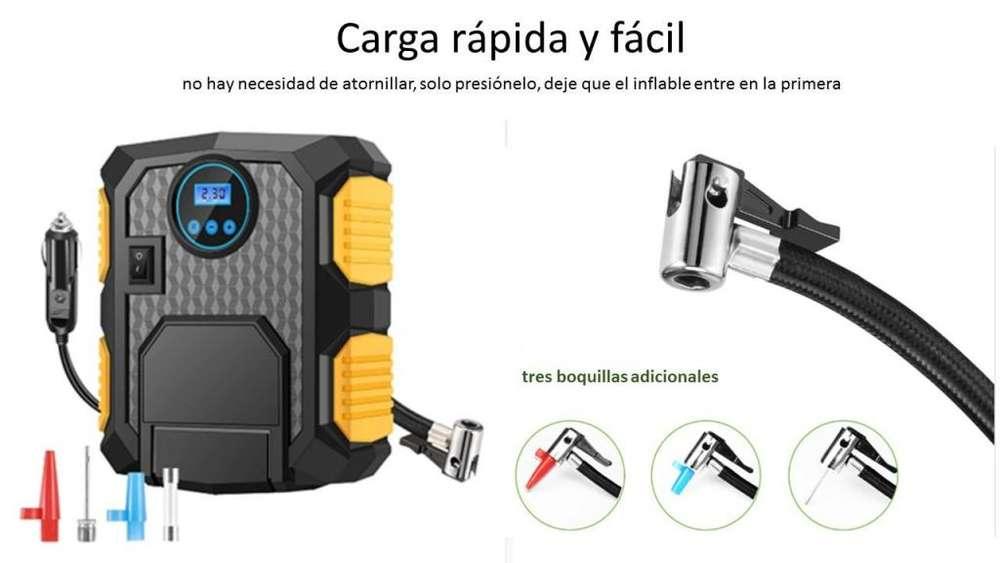 Compresor Inflador Para Neumatico De Autos Y Demas