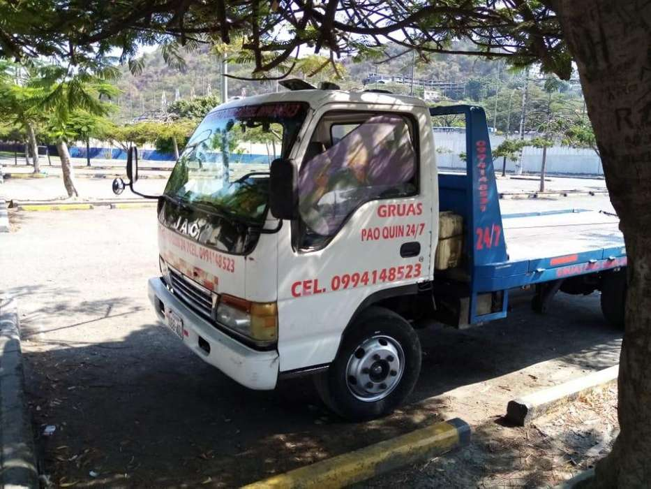 Camion Jac Grúa, (Wincha)