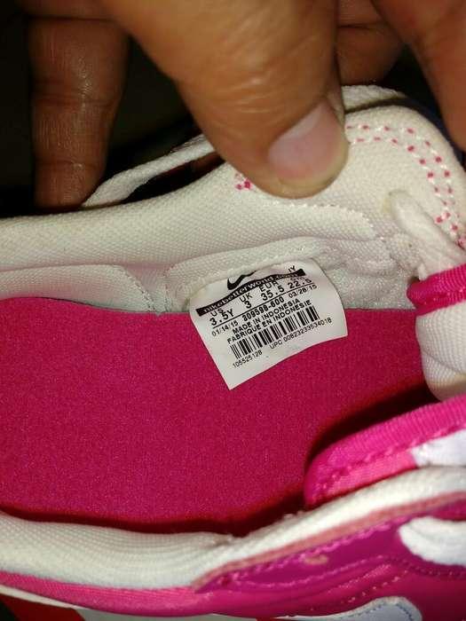Zapatillas Nike para Niña Talla Usa 3.5