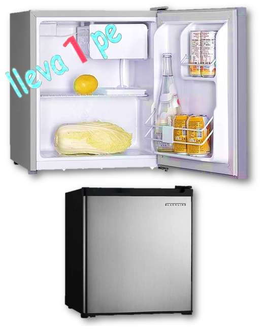 Refrigeradora - frigobar - blackline 46L