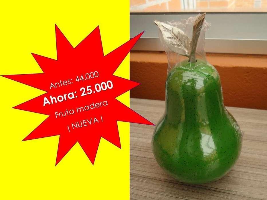 Adorno para <strong>comedor</strong> manzana madera
