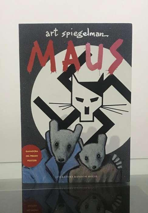 MAUS Novela Gráfica - Art Spiegelman Premio PULLITZER ¡NUEVO y ORIGINAL! WSP: 969538616.