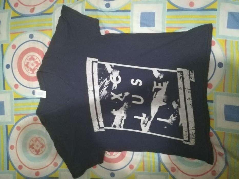 Camiseta Estampada Talla M