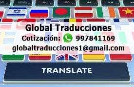 Traducciones Especializadas A 10 Soles la Página