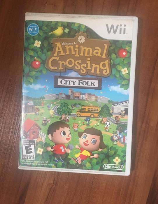 Animal Crossing Juego Wii