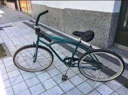Bicicleta Playera Verde Casi sin Uso