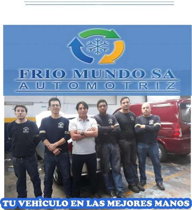 MANTENIMIENTO DE AIRE ACONDICIONADO AUTOMOTRIZ