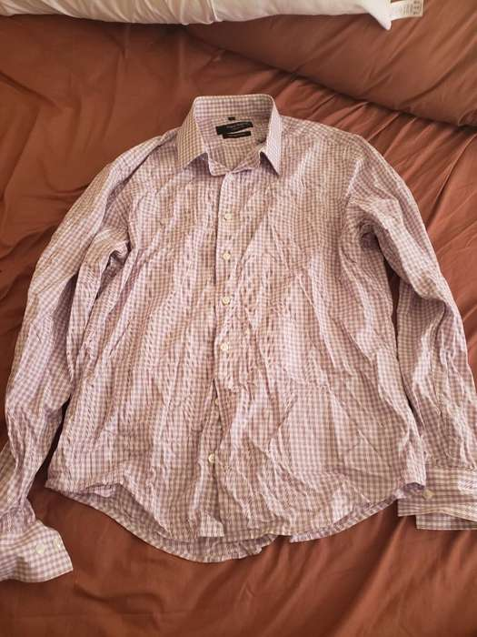 Camisa Manga Larga Uomo Venetto (usada)