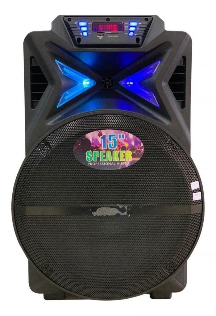 Cabina Sonido Recargable Cm&s Bluetooth Parlante Audio 15''