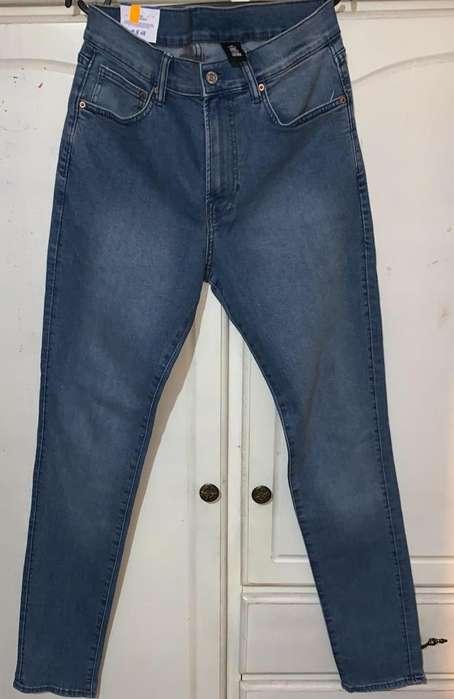H&M Skinny Talla 33
