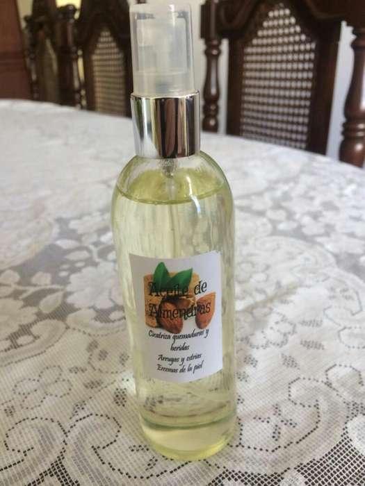 Aceite de Almedras 100porciento Natural