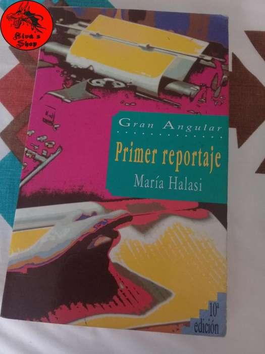 Libro Primer Reportaje por María Halasi