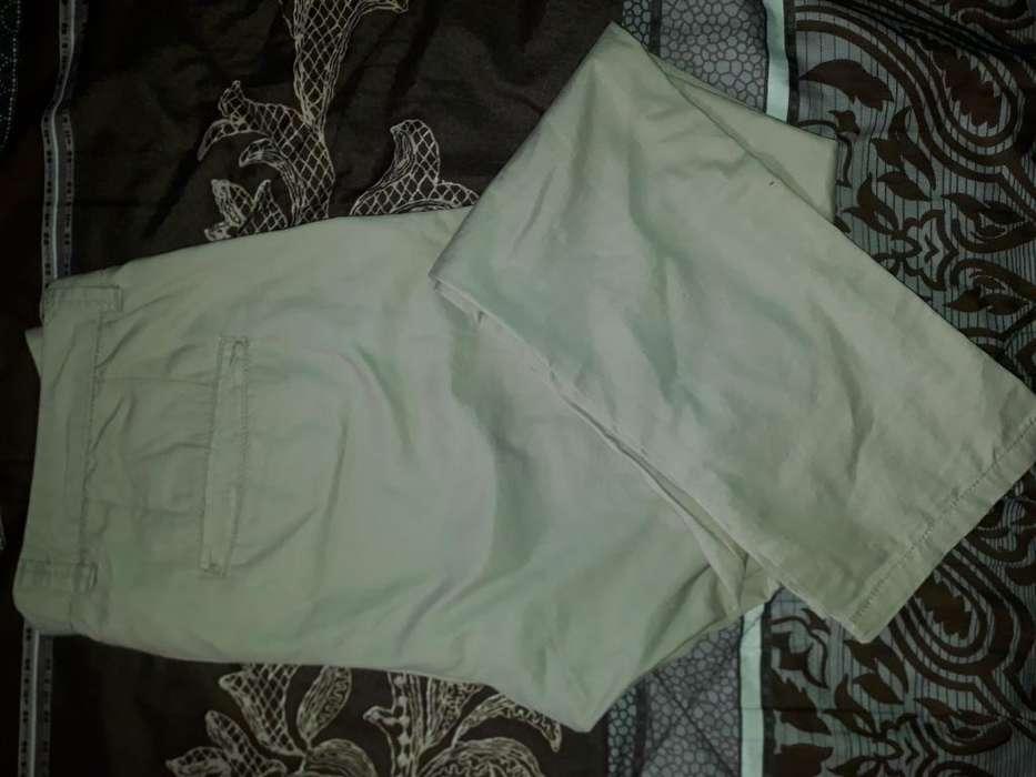 Pantalón Talla 34 Slim Fit