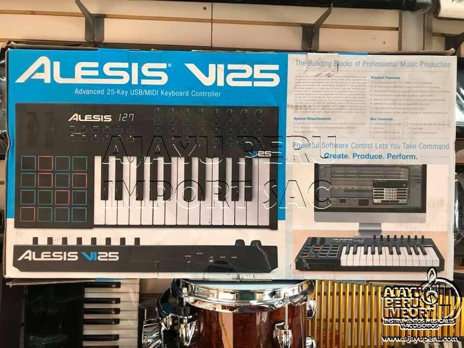 ALESIS VI25 CONTROLADOR USB