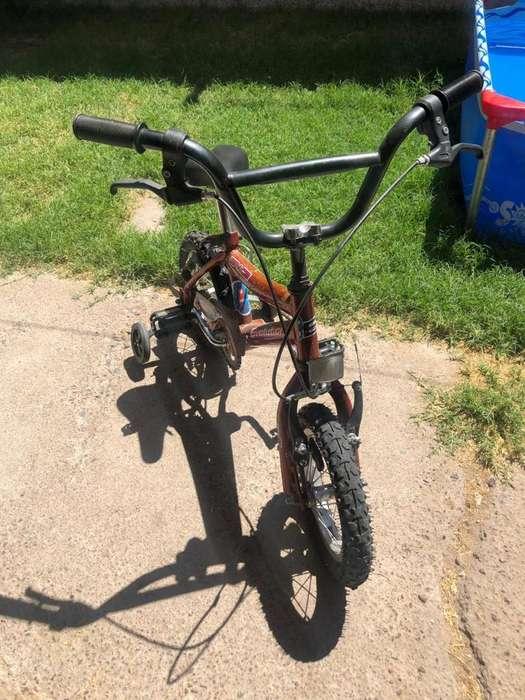 Vendo Bicicleta Rodado 12, Usada