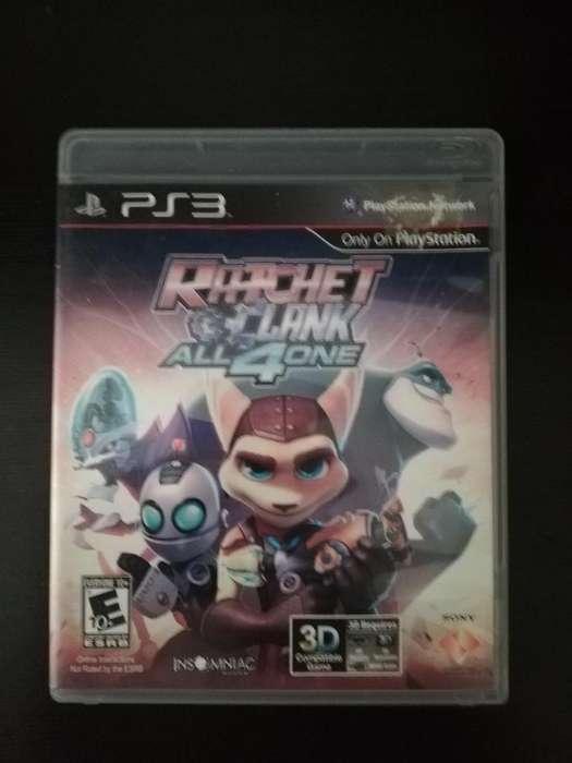 Ratchet Clank 4 Multijugador Ps3 Play3 Cambio