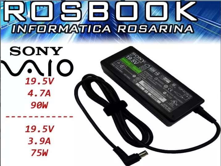 Cargador Notebook Sony Vaio Vgn Vgp Pcg Todos Los Modelos