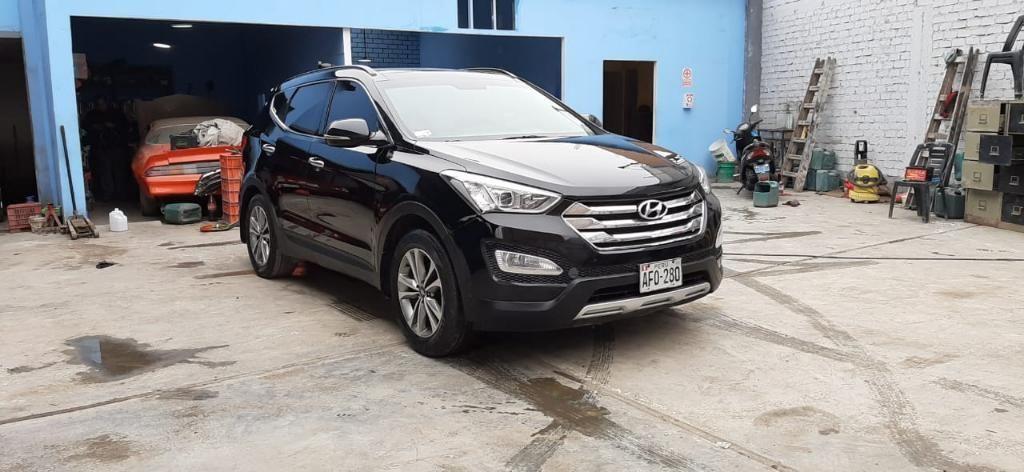 Hyundai Santa Fe Gls Extra Full 2015