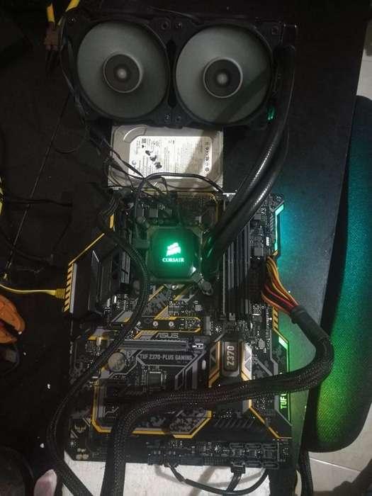 Combo I7 8tava 8gb Ddr4 Refrigeración Lí