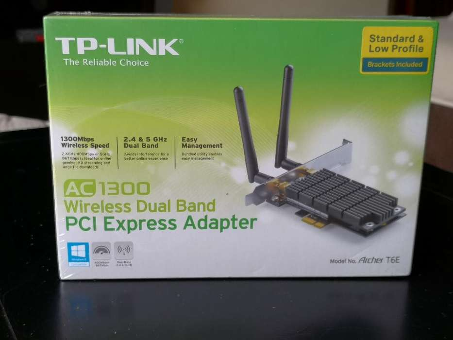 Tarjeta <strong>wifi</strong> Tplink 1300mbps 5ghz Nuevo