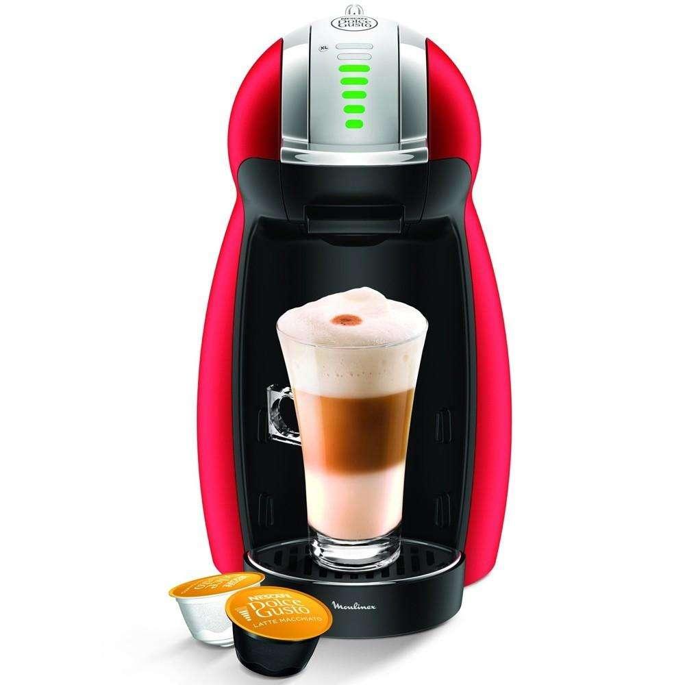 Cafetera Moulinex M: Genio 2 Red