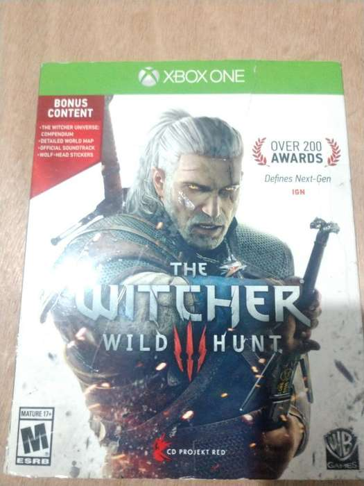 Juego Xbox One Witcher 3 Y Halo 5
