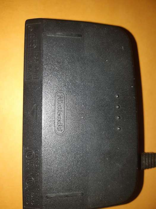 Fuente Energia Adaptador N64 Nintendo 64