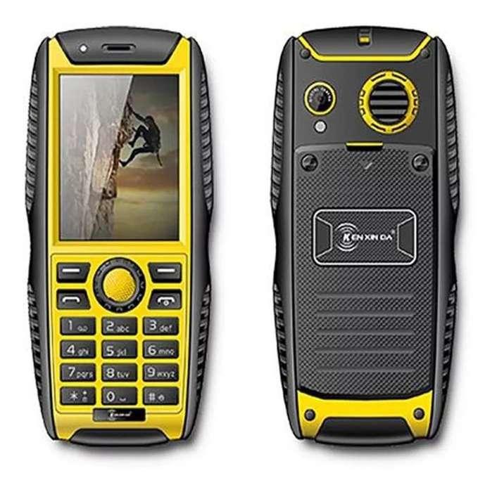 Ken W3 Pro, Teléfono Resistente, 32 Gb, 2000 Mah