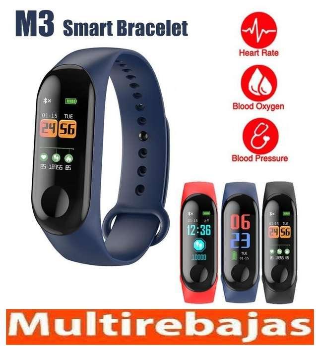 Ofertón Pulsera smartBand M3 SmartWatch