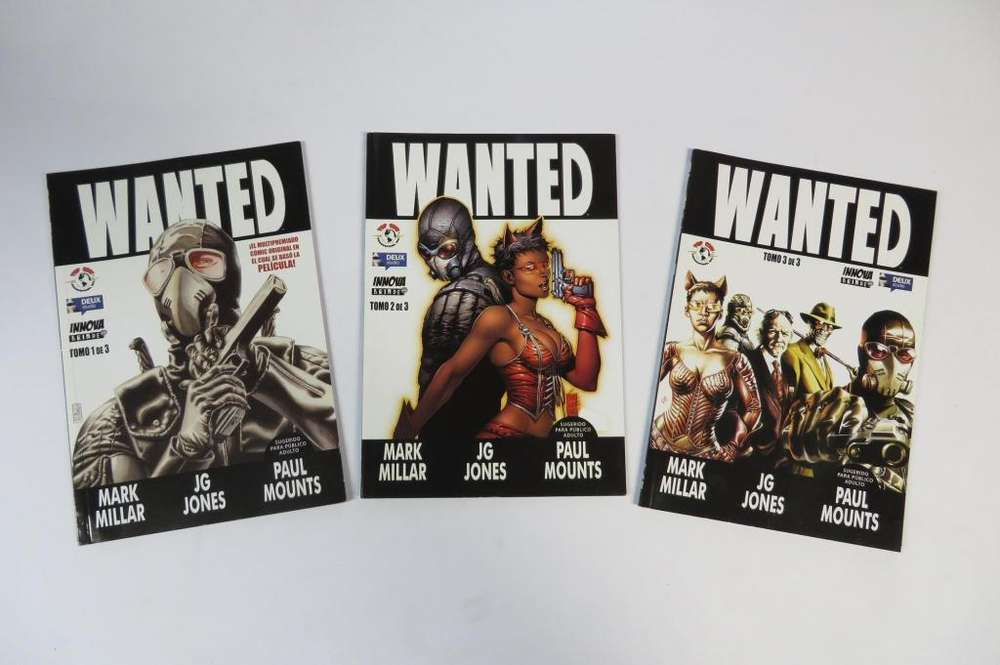 Comics: Wanted los Tres Tomos